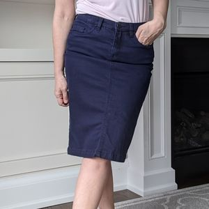 Blank NYC Jean skirt - Navy - size 29 (8)